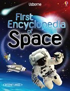 'First encyclopedia of space' book cover