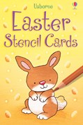 Easter stencil cards