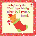 'Baby's very first touchy-feely Christmas book' book cover