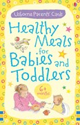 'Healthy meals for babies and toddlers: 6+ months' book cover