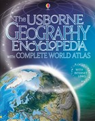Geography encyclopedia with complete world atlas