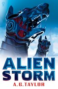 'Alien Storm' book cover
