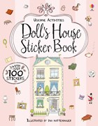 'Doll's house sticker book' book cover
