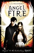 'Angel Fire' book cover