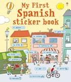 'My first Spanish sticker book' book cover