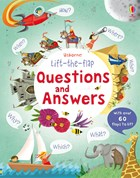 'Lift-the-flap questions and answers' book cover