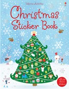 'Christmas sticker book' book cover