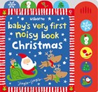 'Baby's very first noisy book: Christmas' book cover