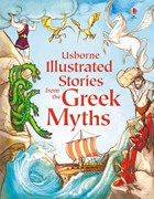 'Illustrated stories from the Greek myths' book cover