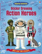 'Sticker Dressing: Action heroes' book cover