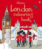 'London colouring book' book cover