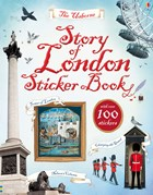 'Story of London sticker book' book cover