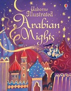 'Illustrated Arabian Nights' book cover
