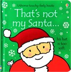 'That's not my santa...' book cover