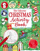 'Christmas activity book' book cover