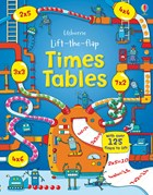 'Lift-the-flap times tables' book cover