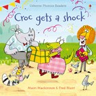 'Croc gets a shock' book cover