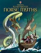 'Illustrated Norse myths' book cover