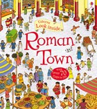 'Look inside Roman town' book cover