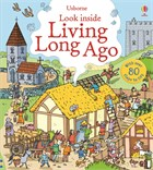 'Look inside living long ago' book cover