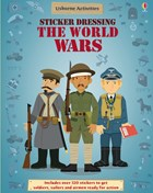 'Sticker Dressing The World Wars' book cover