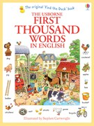 'First thousand words in English' book cover