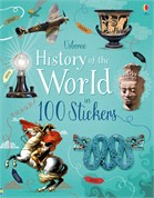 'History of the world in 100 stickers' book cover