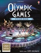 'The Olympic Games sticker book' book cover