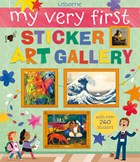 'My very first sticker art gallery' book cover