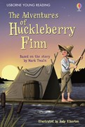 'The Adventures of Huckleberry Finn' book cover