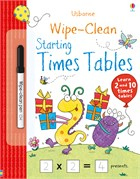 'Wipe-clean starting times tables' book cover