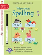 'Wipe-clean spelling 5-6' book cover