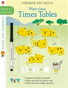 'Wipe-clean times tables 6-7' book cover