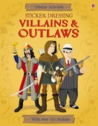 'Sticker Dressing Villains and outlaws' book cover