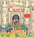 'Look inside a castle' book cover