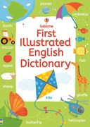 'First illustrated English dictionary' book cover