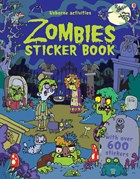 'Zombies sticker book' book cover