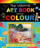 'Usborne art book about colour' book cover