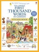 First thousand words in German sticker book