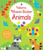 'Mosaic sticker animals' book cover