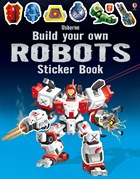 'Build your own robots sticker book' book cover