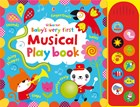 'Baby's very first touchy-feely musical play book' book cover
