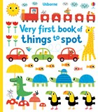 'Very first book of things to spot' book cover