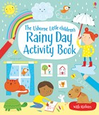 'Little children's rainy day activity book' book cover