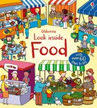 'Look inside food' book cover
