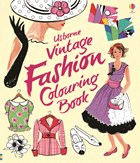 'Vintage fashion colouring book' book cover