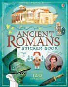'Ancient Romans sticker book' book cover