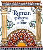 'Roman patterns to colour' book cover