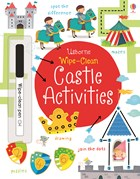 'Wipe-clean castle activities' book cover