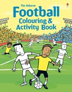 'Football colouring and activity book' book cover